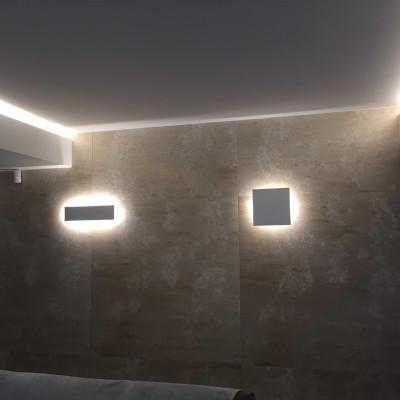 Lampade da parete in ferro